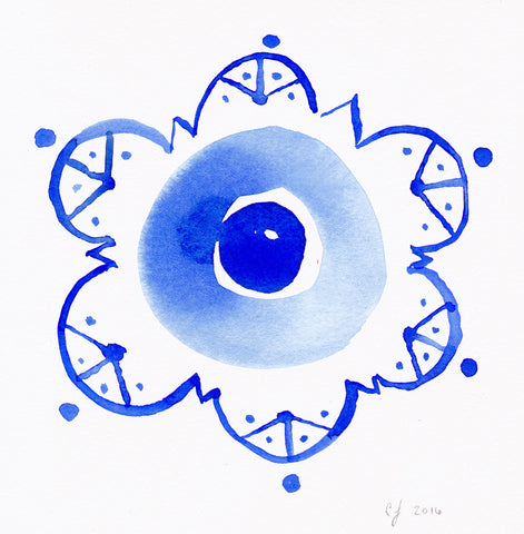 Evil Eye II Art Print