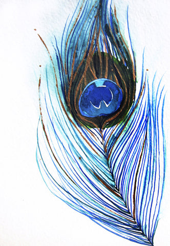 Peacock Feather III