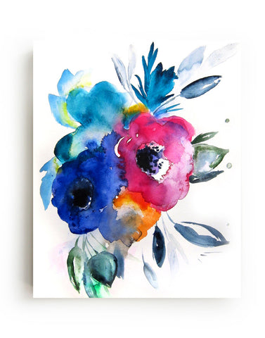 Floral No.9 Canvas Print