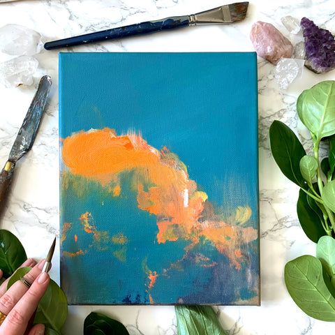 'Floridian Cloud' Original Painting