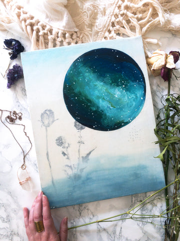 'Galaxies' Original Painting - Mai Autumn - Original Art