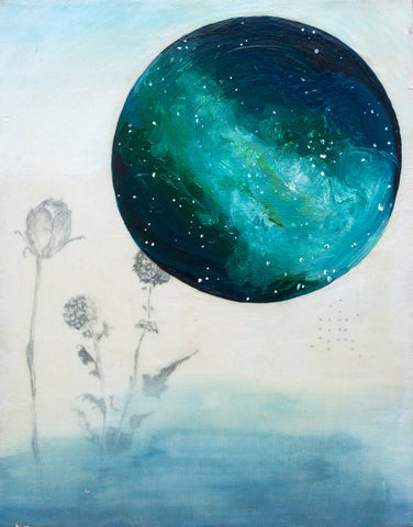 Galaxies Art Print - Mai Autumn - Artwork