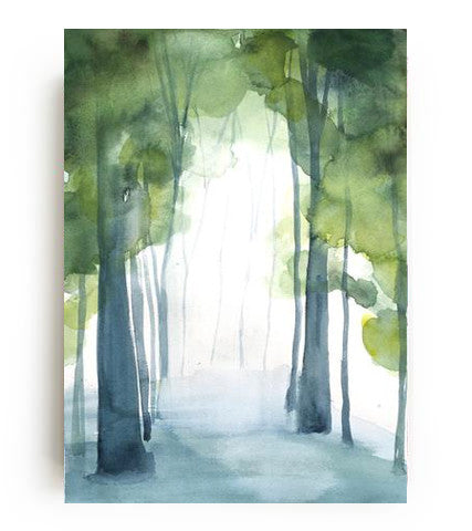 Grove I Canvas Print