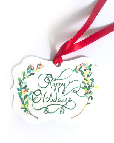 Happy Holidays Ornament - Mai Autumn - Gifts