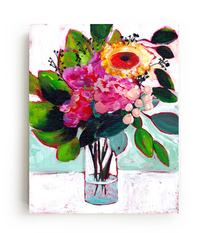 July's Flowers Canvas Print