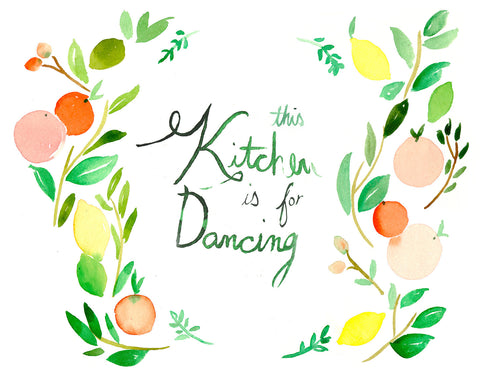 This Kitchen is for Dancing - Mai Autumn - Artwork