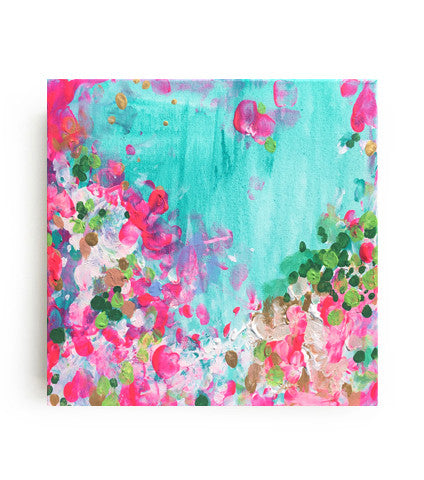 May Garden Canvas Print