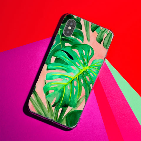Monstera Deliciosa Phone Case