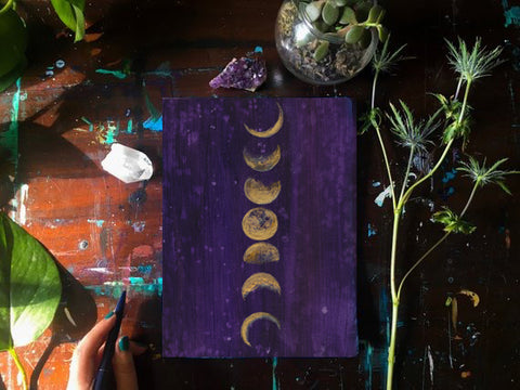 Moon Phases Notebook - Mai Autumn - Notebook