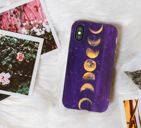 Moon Phases Phone Case