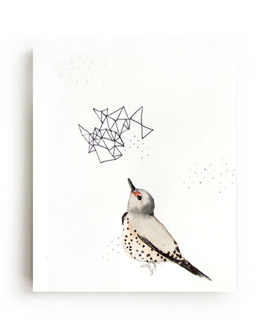 Northern Flicker Canvas Print