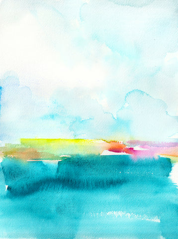 Oceanscape II Art Print - Mai Autumn - Artwork