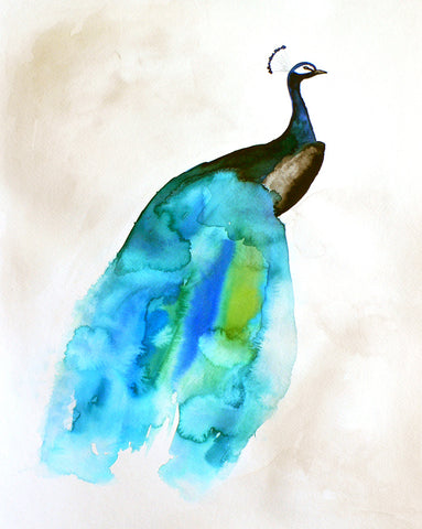 Peacock II - Mai Autumn - Artwork