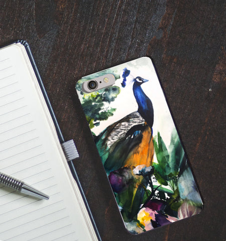 Peacock Garden Phone Case - Mai Autumn - Phone Cases