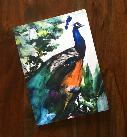 Peacock Garden Notebook - Mai Autumn - Gifts
