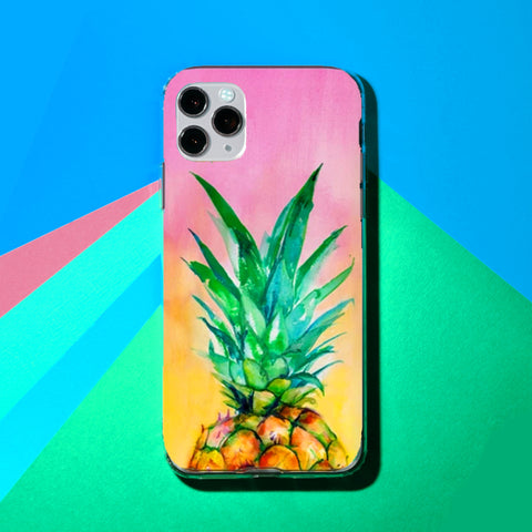 Ombre Pineapple Phone Case