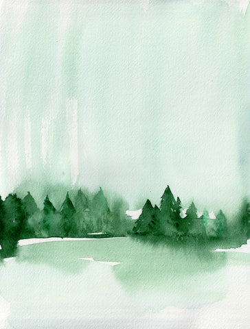 Pines Original Painting - Mai Autumn - Original Art