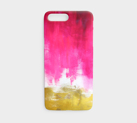 Pink and Gold Phone Case - Mai Autumn - Phone Cases