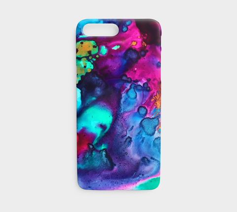Turquoise Wine Phone Case - Mai Autumn - Phone Cases