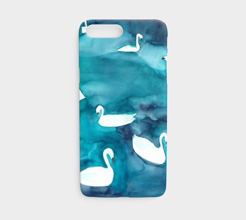 Swans Phone Case - Mai Autumn - Phone Cases