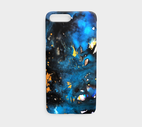 Turquoise Galaxy Phone Case - Mai Autumn - Phone Cases
