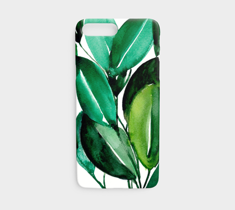 Rubber Tree Plant Phone Case