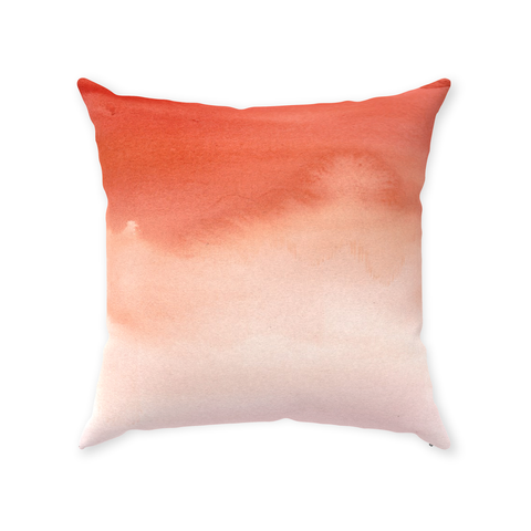 Burnt Orange Ombre Pillow