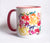 Rainbow Watercolor Floral Mug - Mai Autumn - Mugs
