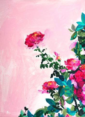 Rose Garden I Art Print - Mai Autumn - Artwork