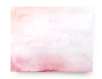 Rose Landscape Canvas Print