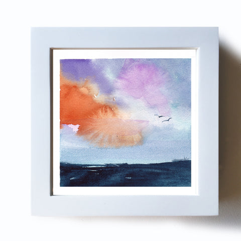 Sea Sunrise Original - Mai Autumn - Original Art