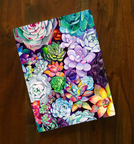 Succulent Garden Notebook - Mai Autumn - Notebook