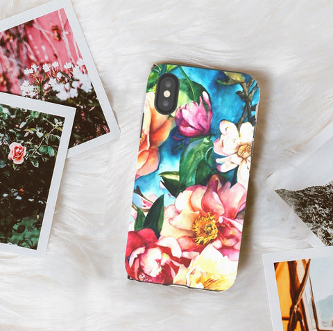 Tropical Floral Phone Case