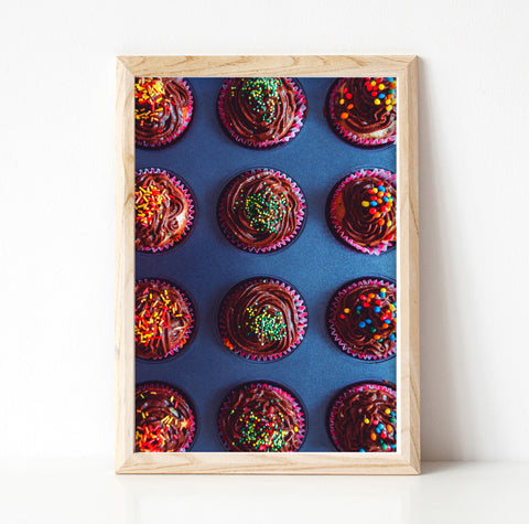 Cupcakes - Printable Wall Art