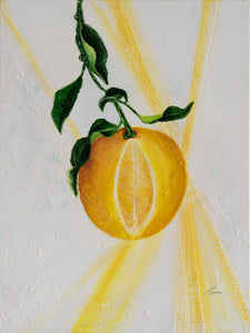 "Lemon Pretty Original 18"" x 24"""