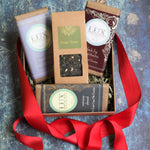 Loose Leaf Tea and Artisanal Chocolate Bars Gift Box