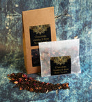 Chocolate-Vanilla-Rose Black Pu-erh Loose Leaf Tea