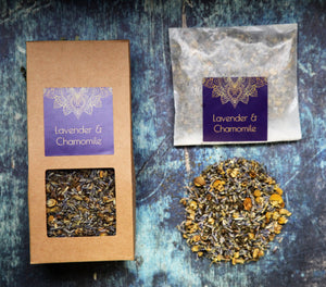 Lavender-Chamomile Herbal Tea
