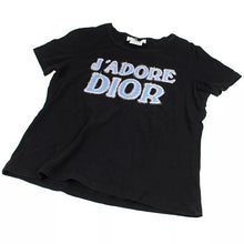 Load image into Gallery viewer, J'Adore Dior Black Tee