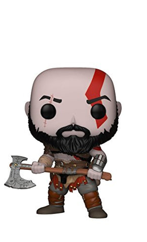 Funko Pop! Games: God of War - Kratos with Axe Collectible Figure: Funko Pop! Games:: Toys & Games - Gamersitemshop