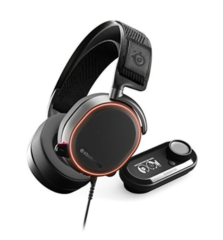 A SteelSeries Arctis Pro + GameDAC Gaming Headset - Certified Hi-Res Audio System for PS4 and PC: playstation 4 - Gamersitemshop