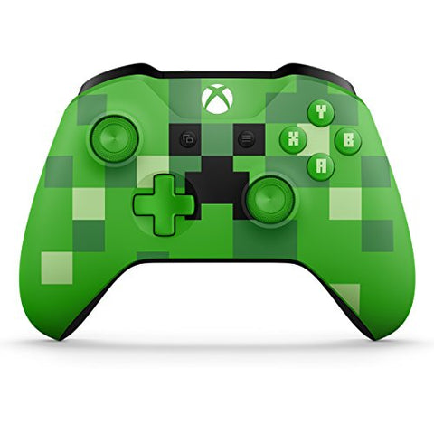 Xbox Wireless Controller - Minecraft Creeper: xbox one - Gamersitemshop