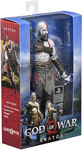 "NECA 49323 God of War (2018) 7"" Scale Action Figure, 7"", Multi-Colored (Pack of 6): Toys & Games - Gamersitemshop"