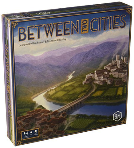 Between Two Cities Stonemaier Tabletop Board Game - Gamersitemshop