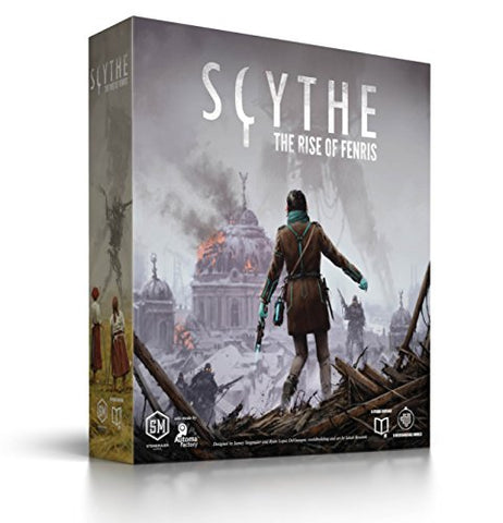 Scythe The Rise of Fenris Stonemaier Tabletop Board Game - Gamersitemshop