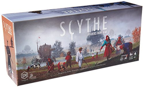 Scythe Invaders from Afar Stonemaier Tabletop Board Game - Gamersitemshop