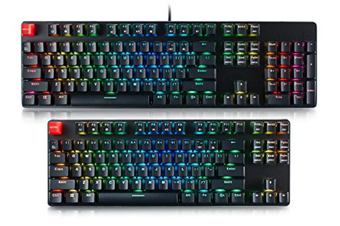 Glorious Modular Mechanical Gaming Keyboard - Full Size (104 Key) - RGB LED Backlit - Gamersitemshop