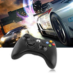 JAMSWALL Xbox 360 Game Gamepad Controller for Microsoft Xbox & Slim 360 PC Windows 7 (Black): Computers & Accessories - Gamersitemshop