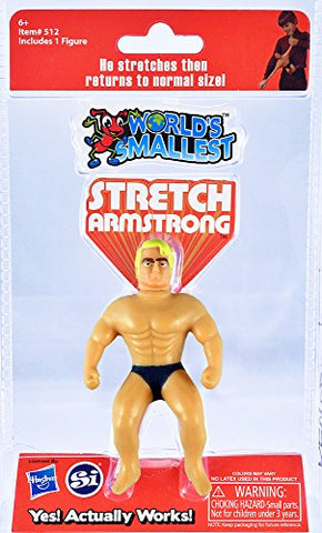 Worlds Smallest Stretch Armstrong Collectable: Toys & Games - Gamersitemshop