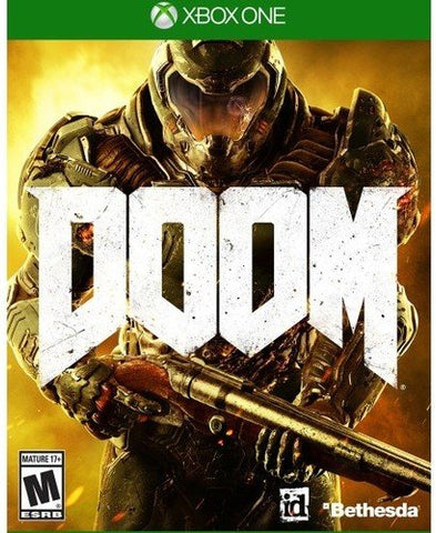 Doom - Xbox One: Bethesda Softworks Inc: Video Games - Gamersitemshop